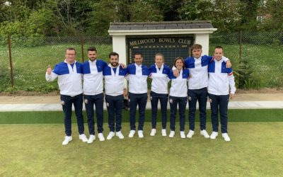 The French Lawn Bowls team prepares for their first World championships