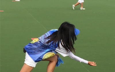 France on the Chinese bowling greens