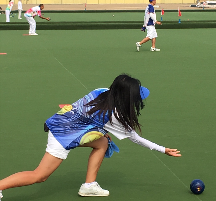 france sur les bowling greens chinois fflb