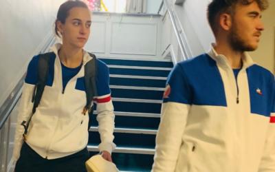 Les jeunes Français continuent leur apprentissage en indoor en vue des Mondiaux 2020