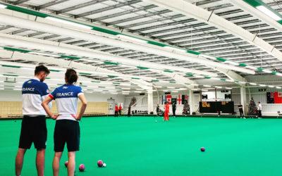 L'équipe de France de Lawn Bowls se prépare pour ses premiers championnats du monde